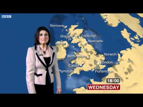 BBC Weather - Wednesday 23 May 2012, 07:51