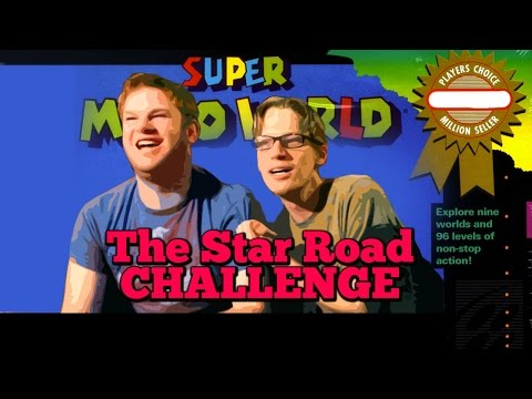 Super Mario World Star Road Challenge - Big Game Challenge #001