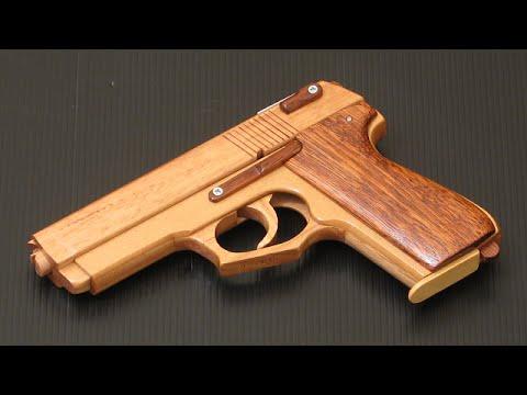 [rubber band gun] Llama M82 - YouTube