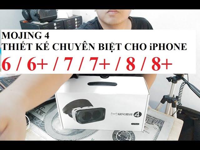Kính thực tế ảo Mojing 4 dành riêng cho iPhone - Tối ưu với iPhone 6/7/8 và 6+/7+/8+