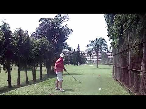 9th Hole Dave Childs Tee Shot Asia Pattaya Golf Course Thailand