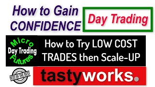 How to Day Trąde with Low Cost Trades Micro E-Minis - Then Scale Up