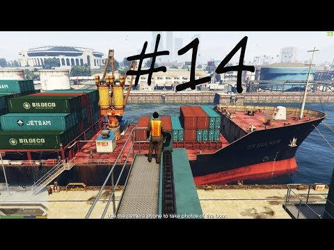 Robbery on the Ship || Working for FIB || GTA 5(1080p)
