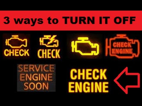 How to Reset Check Engine Light without Disconnecting