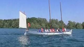 Drôles de bateaux sur le Lac d'Orient (Aube)