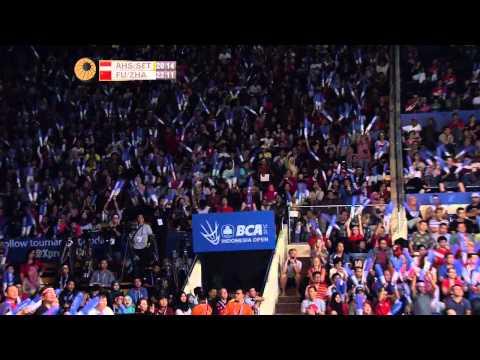 BCA Indonesia Open 2015 | Badminton SF M5-MD | M Ahsan/H Setiawan vs Fu Hf/Zhang N