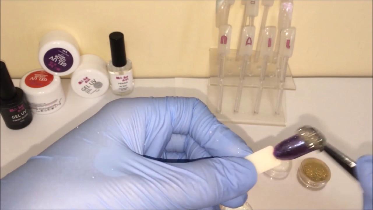 Polvere effetto specchio ma ke nail cromato mirror - Polvere effetto specchio unghie ...