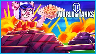 World of Tanks but I'm just a pizza delivery driver...