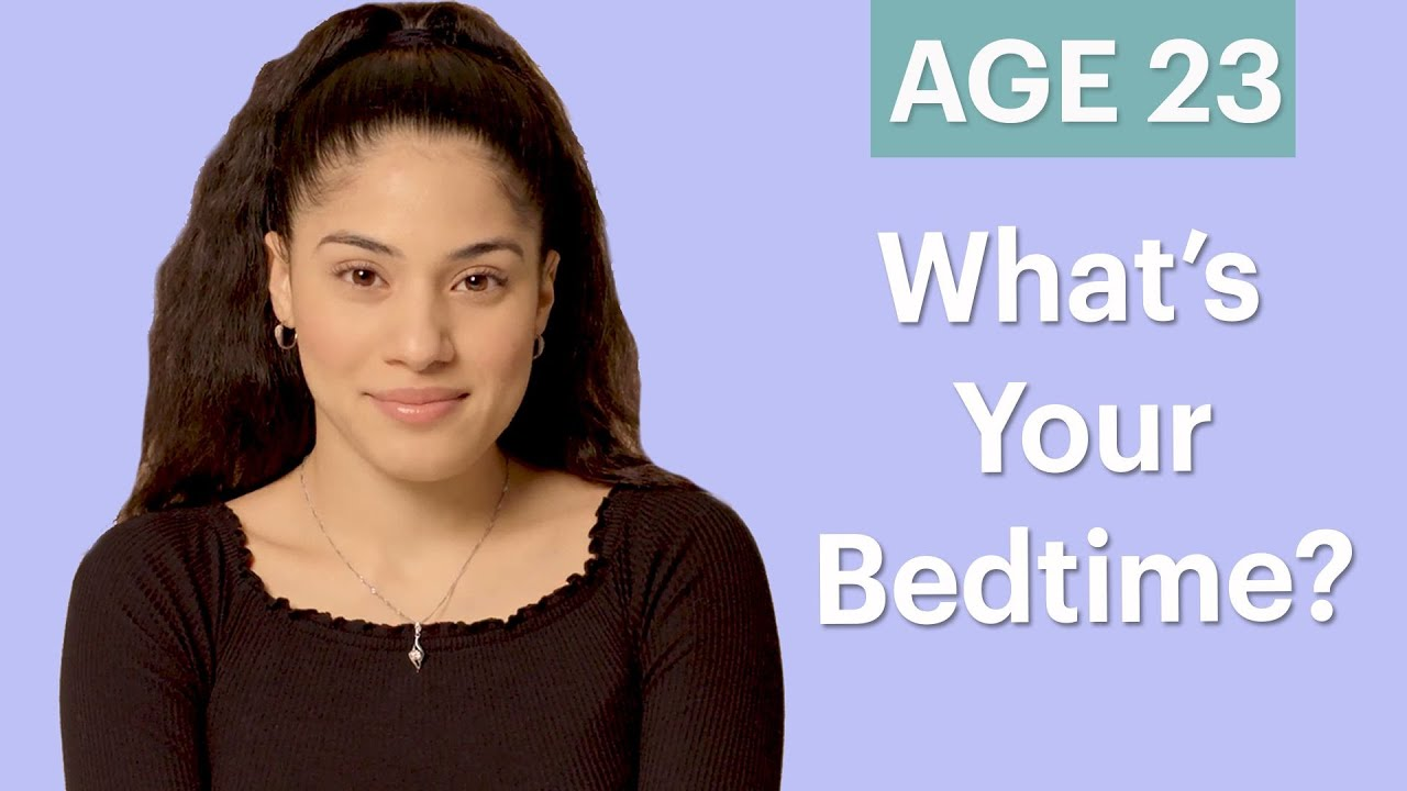 70 Women Ages 5-75 Answer: What's Your Bedtime? | Glamour