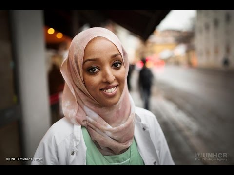 Somali dentist helping refugees in Oslo