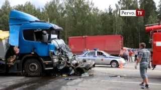 видео В Перми произошло массовое ДТП