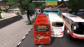 ETS2 Sopir amatiran Sugeng rahayu ErKa balap JETBUS 2+