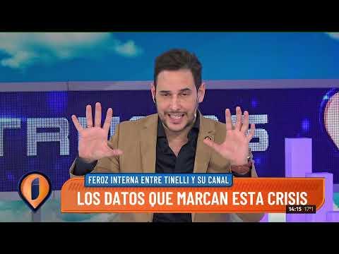 Los datos que marcan la crisis entre Marcelo Tinelli y Canal 13 📉📺