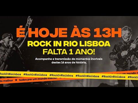 Rock in Rio Lisboa: Falta 1 Ano!