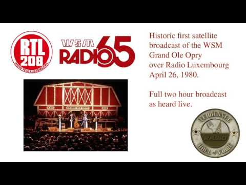 The Grand Ole Opry on Radio Luxembourg 1980