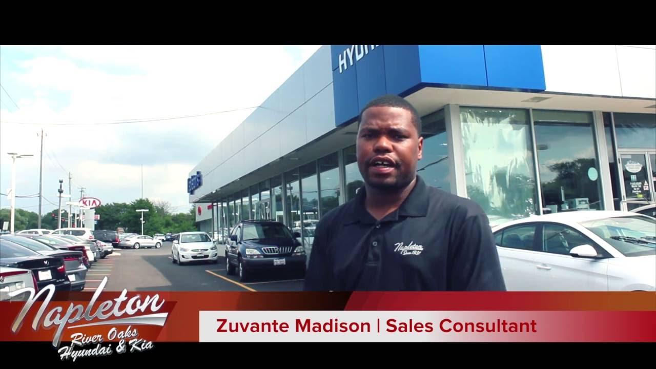 Zuvante at Napleton River Oaks Hyundai and Kia - YouTube