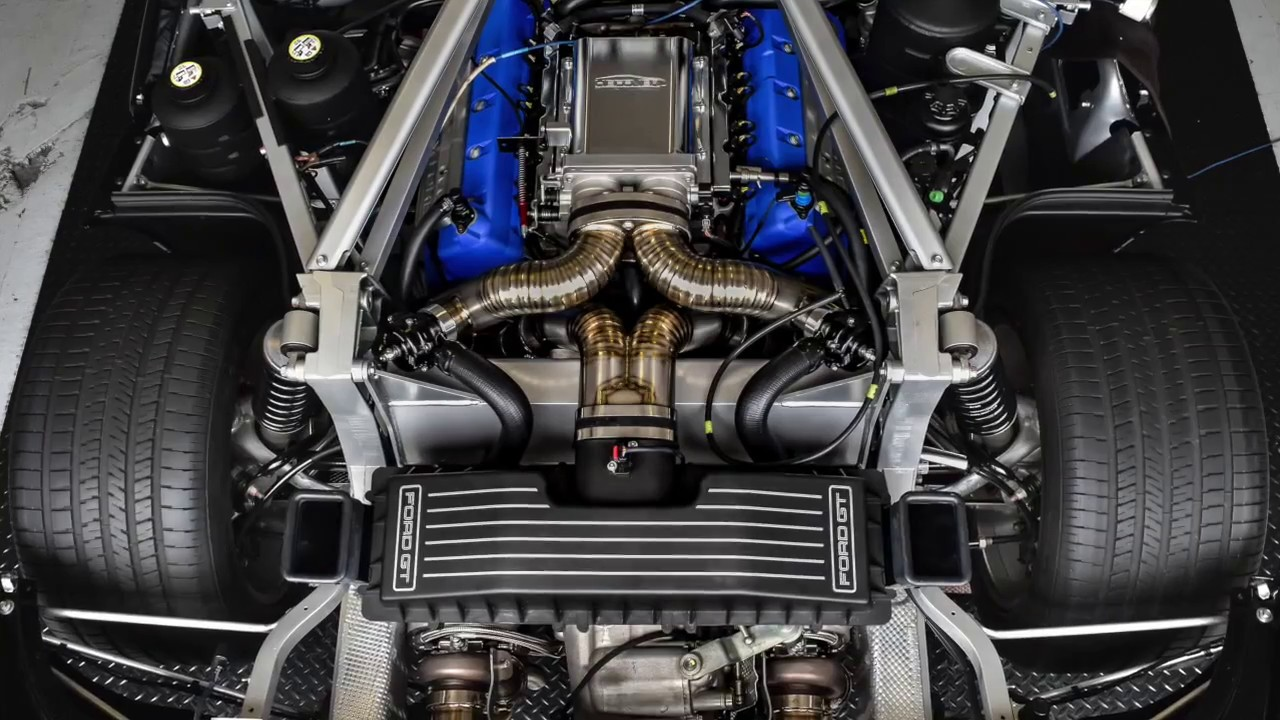 Ford Gt Titanium Twin Turbo System Making Whp On Dyno