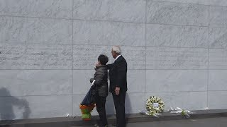 NZ地震7年、犠牲者追悼 日本人遺族も参列