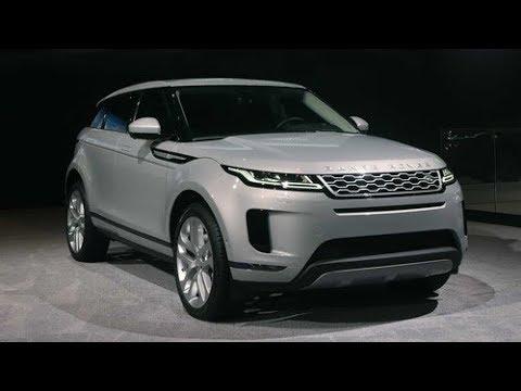 Range Rover Evoque 2020 ra mắt, bổ sung động cơ hybrid