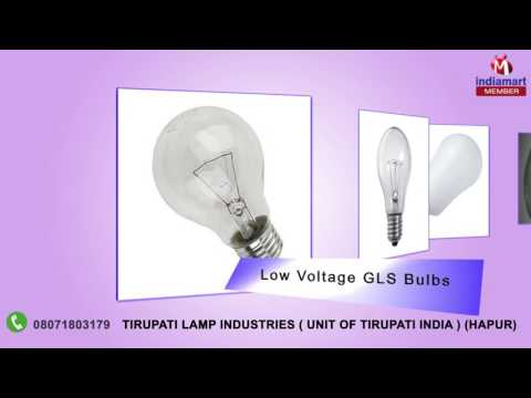 Low Voltage GLS Bulbs - View Specifications & Details of Gls