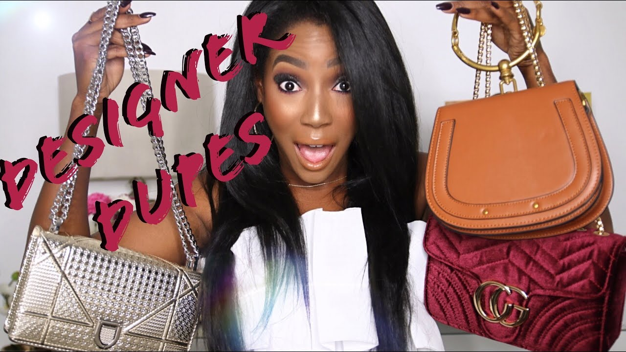 f210610f7356 THE BEST DESIGNER PURSE DUPES!! | Whitney Wiley - YouTube