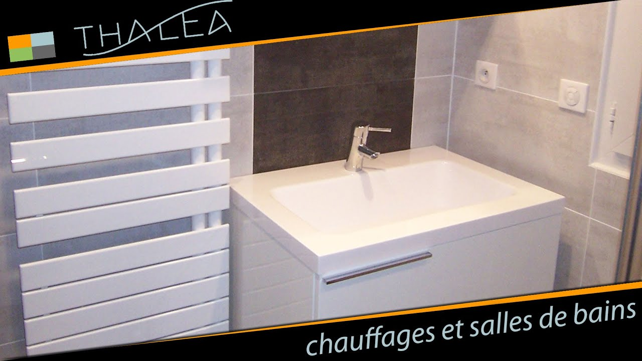 thalea salle de bain meuble design et douche a l 39 italienne youtube. Black Bedroom Furniture Sets. Home Design Ideas