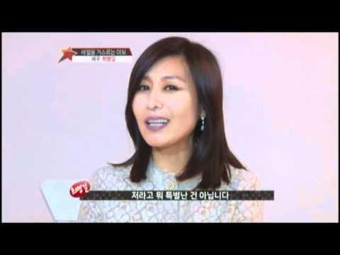 최명길 센트룸 실버 광고 촬영현장 연예 in TV 20120427