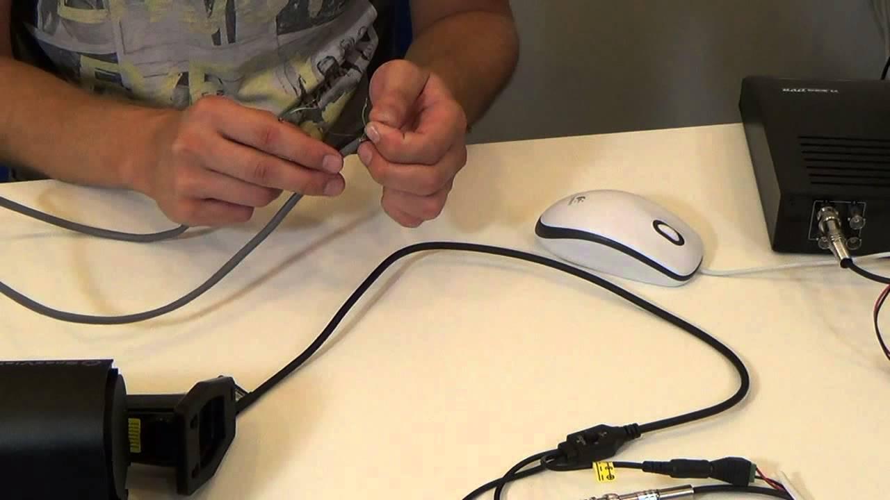 инструкция подключения уличной видеокамеры