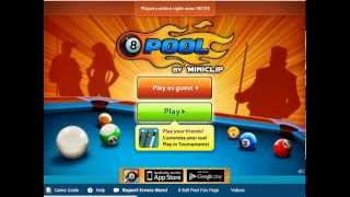 Miniclip 8 ball pool game play