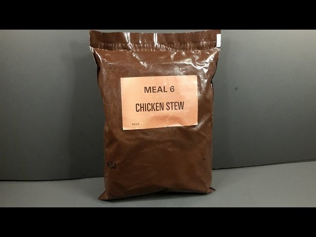 1981 Mountain House Civilian Long Range Patrol Ration LRP Vintage MRE Review Ready Meal Taste Test