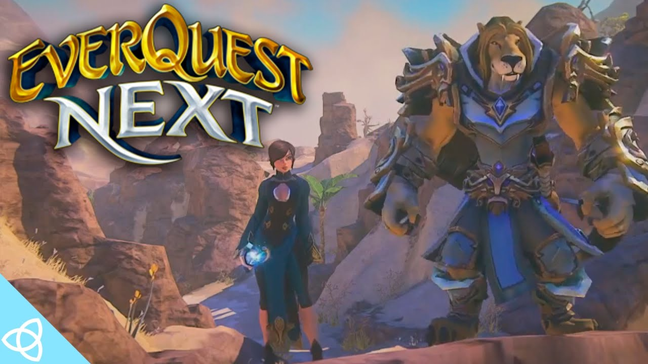 EverQuest Next - Cancelled MMO [Trailers and Gameplay]