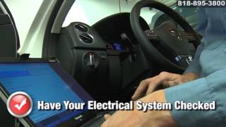 VW Volkswagen Electrical System Wiring Repair Service San Fernando Valley Los Angeles California