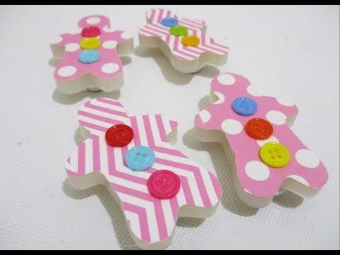 DIY : #209 Cute Fridge Magnet ❤