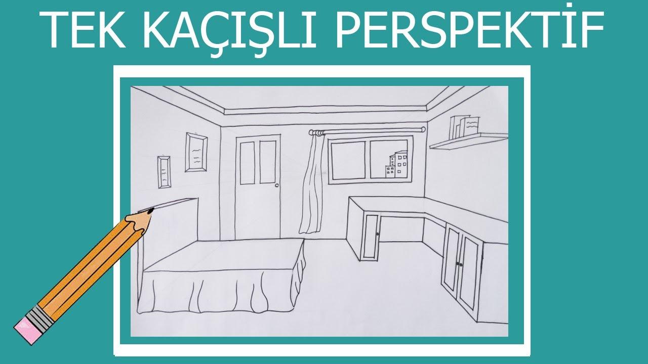 Yatak Odası Nasıl Çizilir?, Güzel Sanatlara Hazırlık, How To Draw A Bedroom?