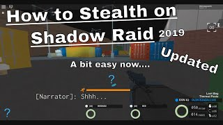 [Roblox] Notoriety - How to Stealth on shadow raid(Update)