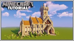 Minecraft 1.14 Medieval Church Tutorial [How to Build]