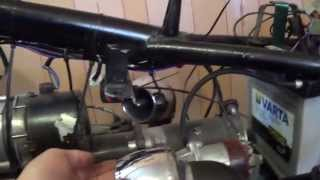 Вот так должна выглядеть электропроводка на мотоцикле ДНЕПР МТ !