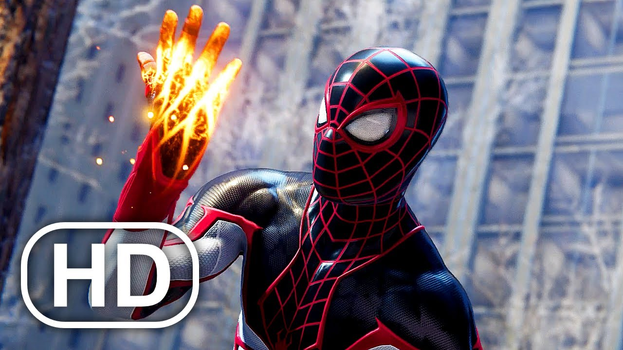 Download Spider-Man Miles Morales Gets NEW SUPER POWERS Scene HD