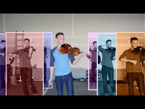 Strata: 9 violas and an upside down trash can – Music Video