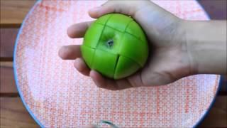 Как порезать яблоко(Спасибо за внимание подписывайтесь на канал и ставьте лайки., 2016-02-12T14:07:12.000Z)