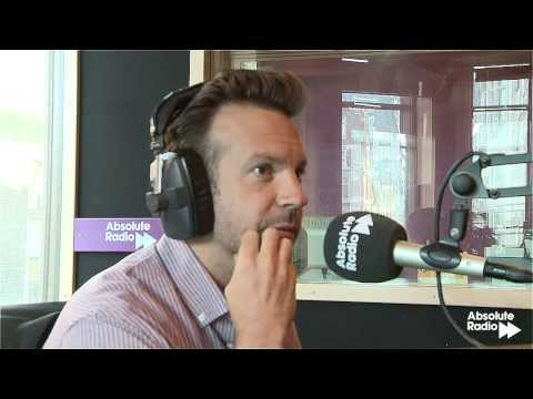 "Jason Sudeikis talks about his comedy football video for NBC ""An American Coach in London"""