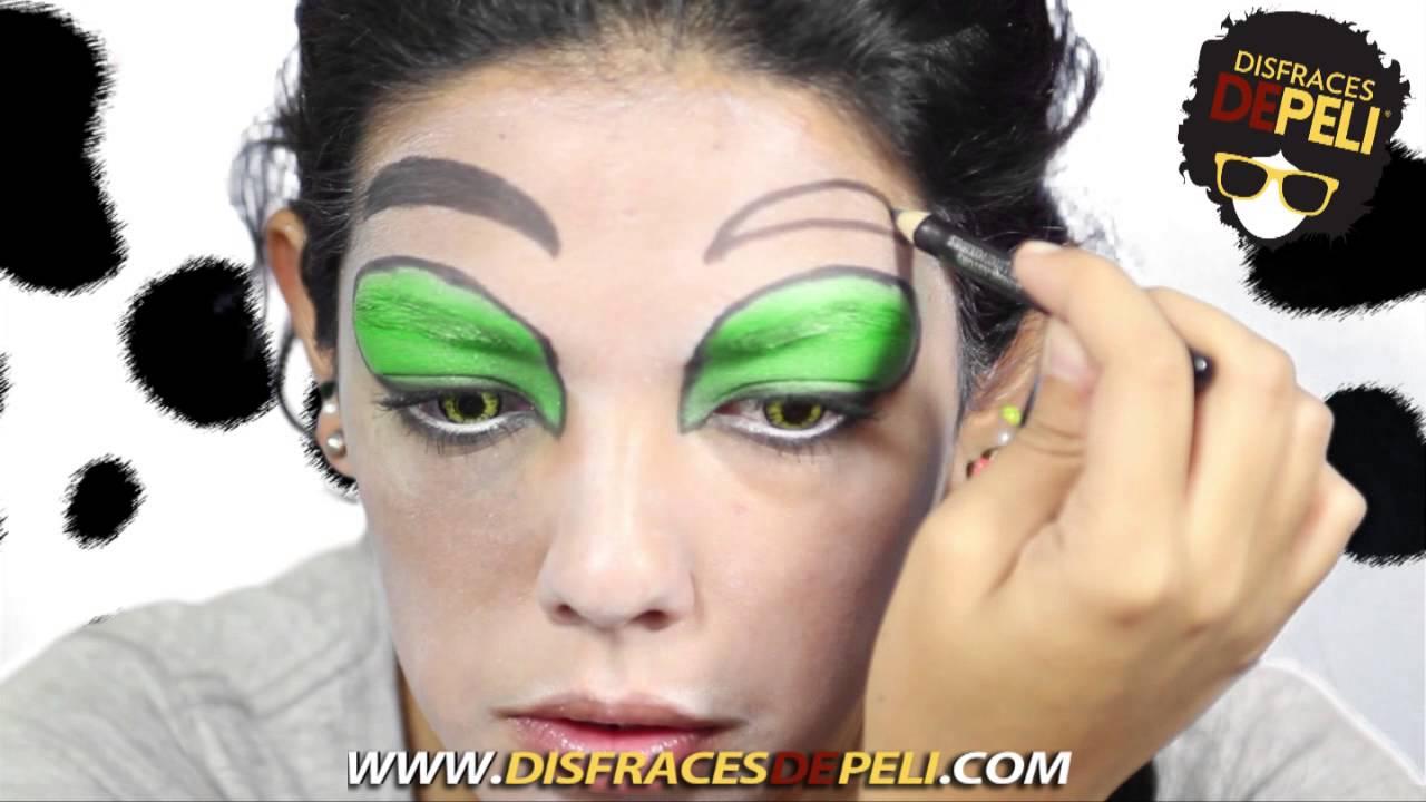 maquillaje de cruella