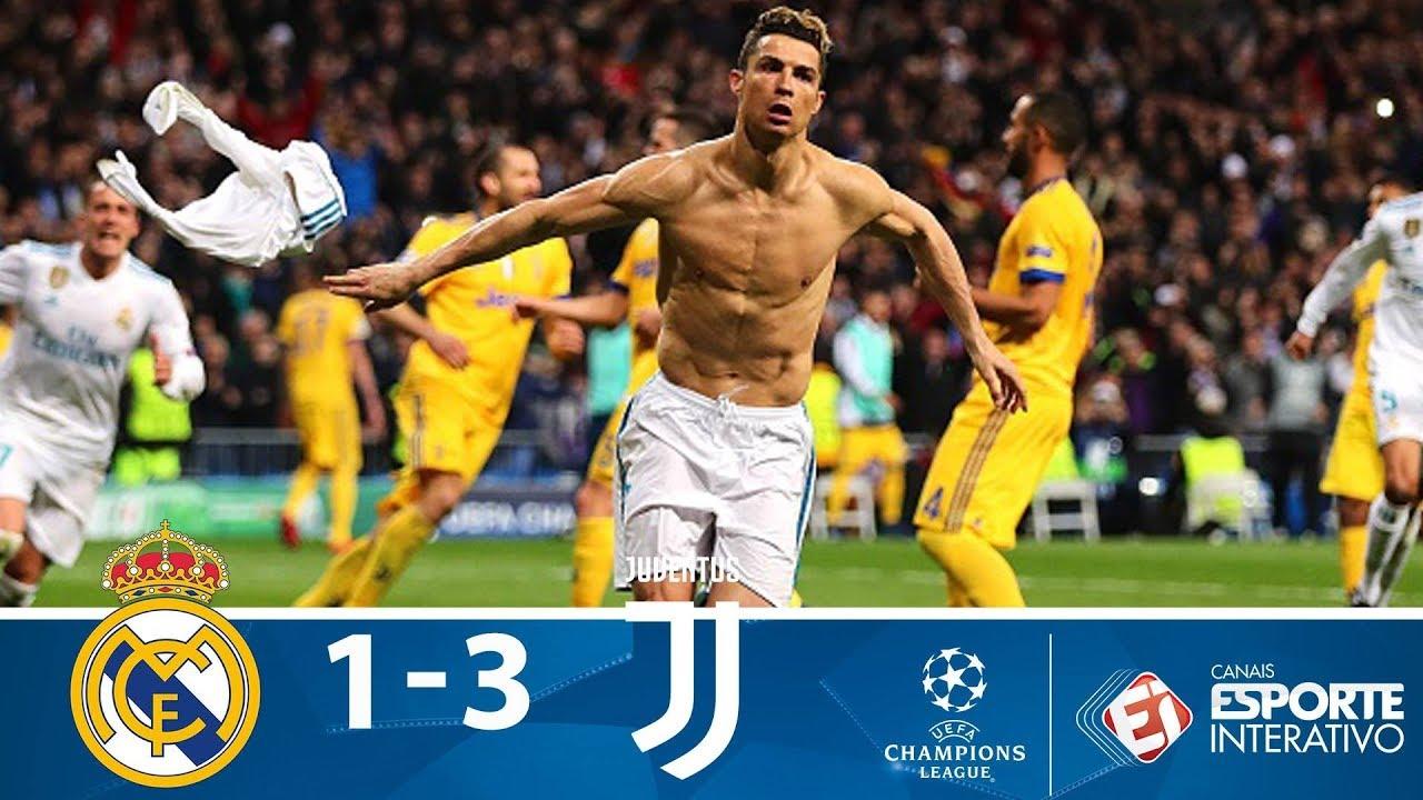 3 Madrid Real 1 Juventus