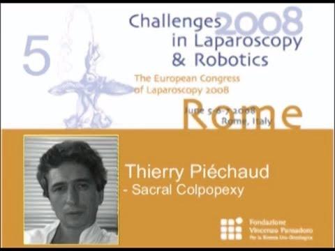 CILR 2008 - Thierry Piéchaud - Sacral Colpopexy