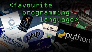 What's your Favourite Programming Language? (sound check Q) - Computerphile