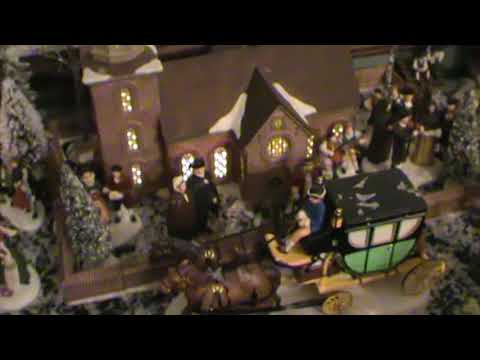 Bill & Penny's Williamsburg Christmas in miniature