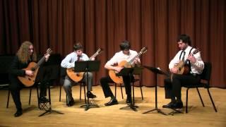 Manuel Penella - El Gato Montes (guitar quartet)