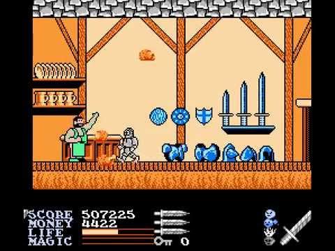 NES Longplay [259] Ironsword - Wizards & Warriors II