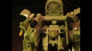 Transformers Movie in Stop Motion