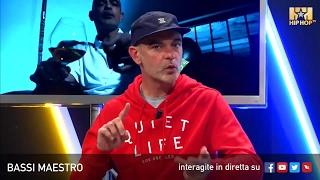 BASSI MAESTRO LIVE SU HIP HOP TV 🎤👊🏻📲